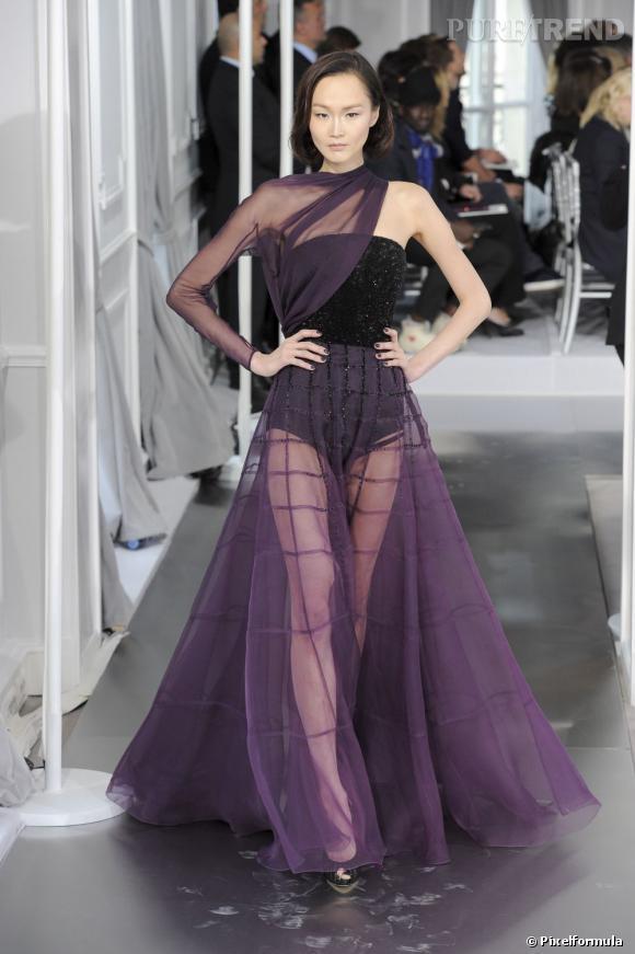 Défilé Christian Dior Haute Couture Printemps-Eté 2012.