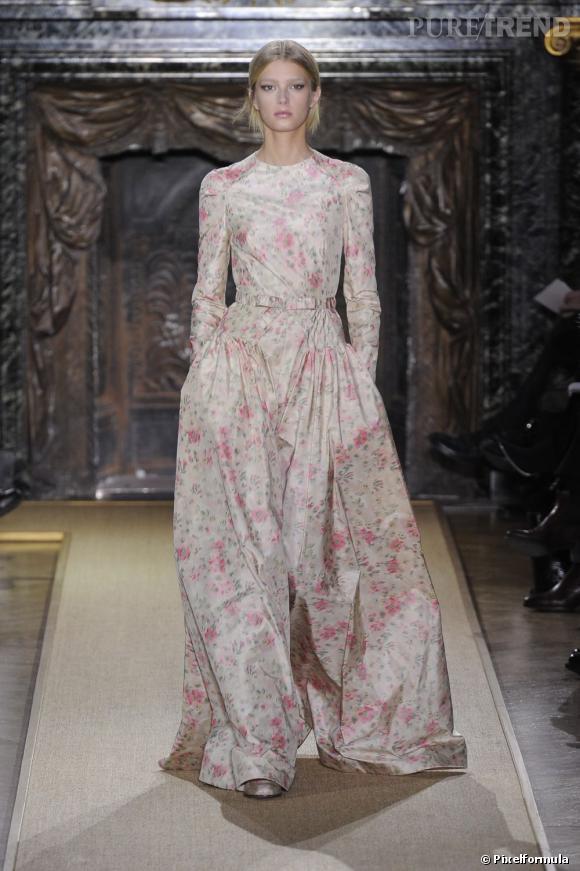 Défilé Valentino Haute Couture Printemps-Eté 2012