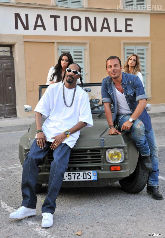 Snoop Dogg adore passer quelques jours sur la Côte d'Azur. Passage au VIP Room Saint-Tropez oblige !