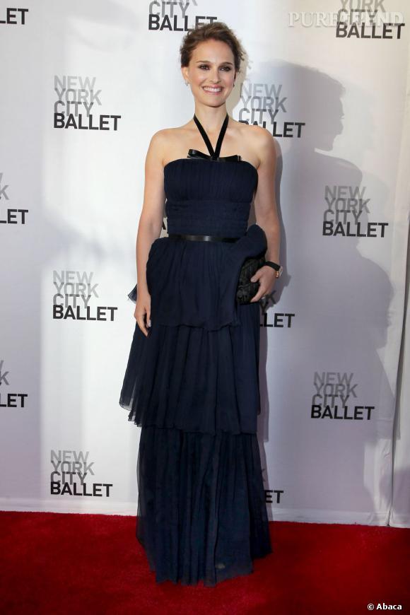 Natalie Portman, une digne égérie de la griffe française Christian Dior.