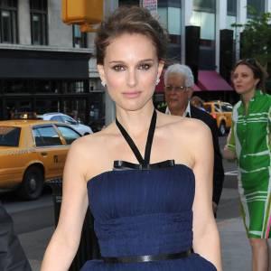 Natalie Portman au côté de son compagnon Benjamin Millepied.