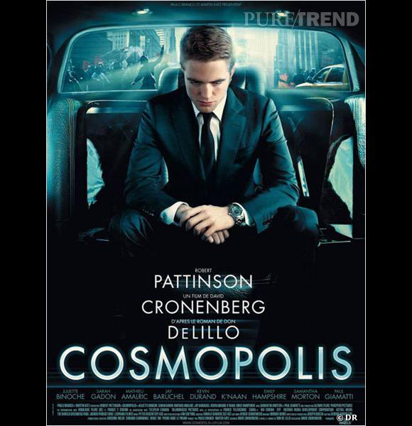 """Cosmopolis :       Le Synopsis :  Dans un New York en ébullition, l'ère du capitalisme touche à sa fin. Eric Packer, golden boy de la haute finance, s'engouffre dans sa limousine blanche. Alors que la visite du président des Etats-Unis paralyse Manhattan, Eric Packer n'a qu'une seule obsession : une coupe de cheveux chez son coiffeur à l'autre bout de la ville. Au fur et à mesure de la journée, le chaos s'installe, et il assiste, impuissant, à l'effondrement de son empire. Il est aussi certain qu'on va l'assassiner. Quand ? Où ? Il s'apprête à vivre les 24 heures les plus importantes de sa vie.     Les acteurs  : Robert Pattinson, Juliette Binoche, Sarah Gadon.     Le réalisateur :  David Cronenberg, qui a également réalisé """"A Dangerous method"""", ou  """"Les promesses de l'ombre"""".     Sortie :  le 25 mai 2012."""