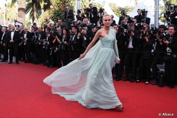 Diane Kruger au Festival de Cannes 2012.
