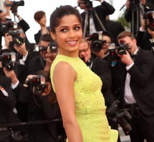 Cannes 2012 : Freida Pinto, plus audacieuse que jamais