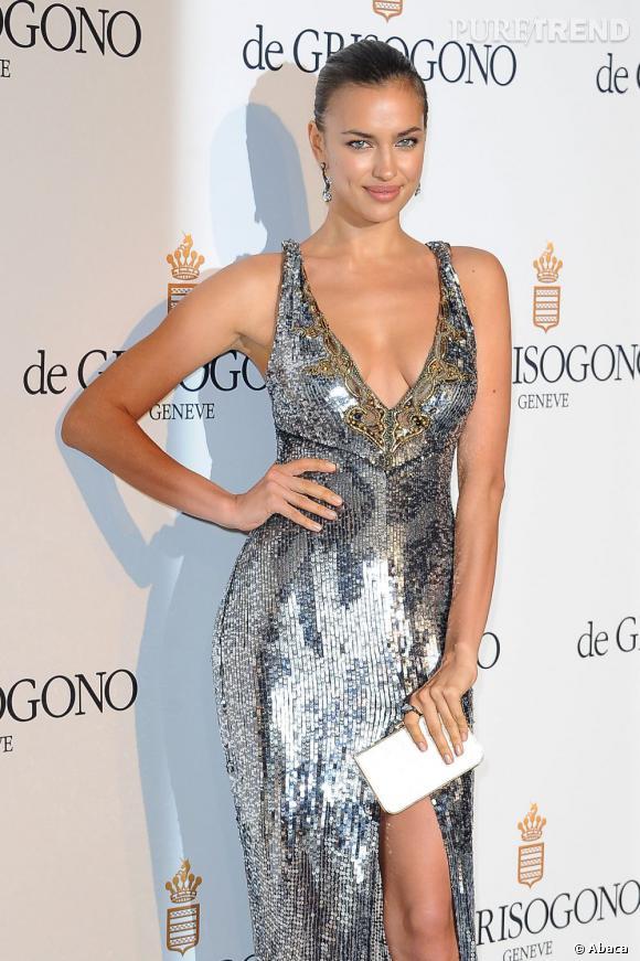 Irina Shayk à la soirée de Grisogono à Cannes le 23 mai.