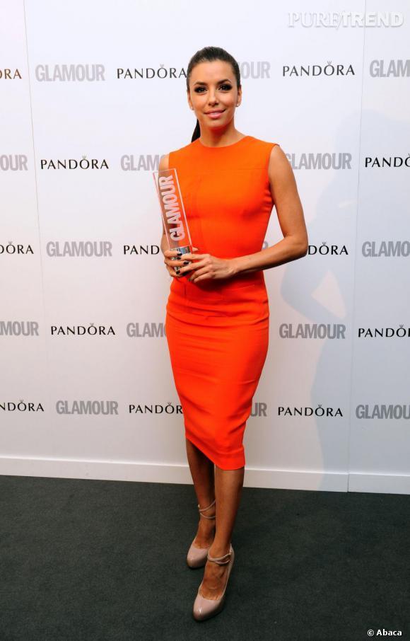 Eva Longoria en Victoria Beckham.
