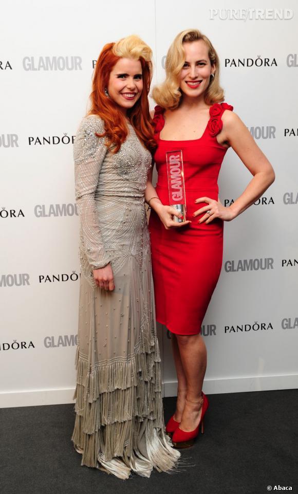 Paloma Faith et Charlotte Dellal.