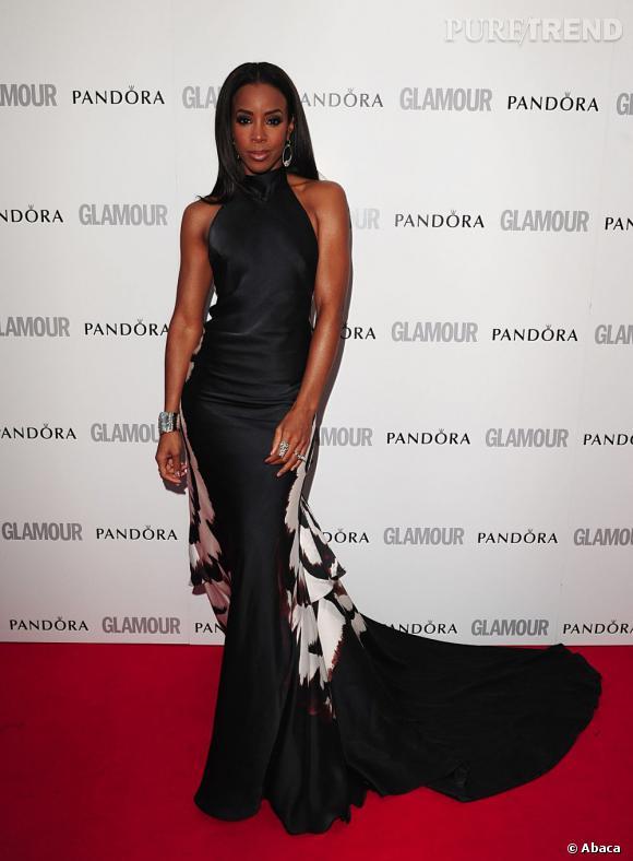 Kelly Rowland, la robe fourreau.