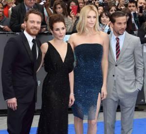 Prometheus : Charlize Theron et Michael Fassbender pour un blue carpet so british