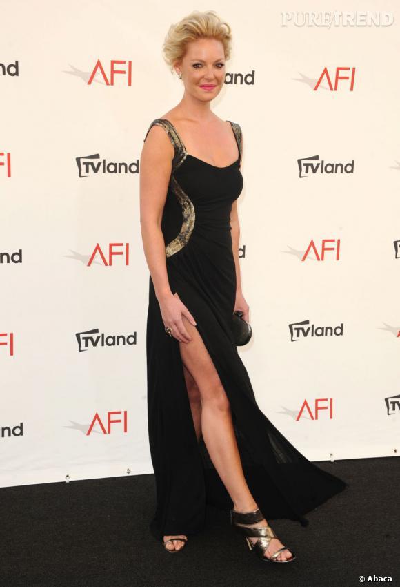 Katherine Heigl à la soirée AFI Life Achievement Award Honoring Shirley MacLaine à Los Angeles le 7 juin.
