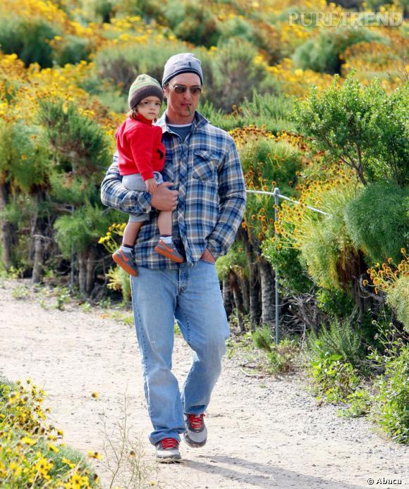 2010 :  Le retour du bûcheron quelques années plus tard... dur de parler d'évolution pour le cas McConaughey.