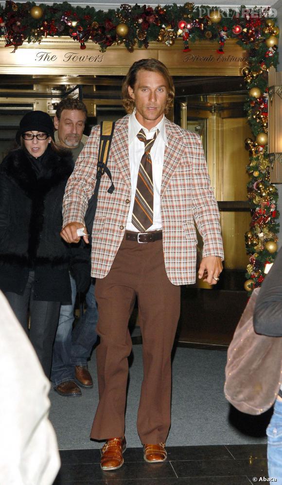 2006 :  Quand Matthew McConaughey tente des prouesses, eh bien... c'est raté !