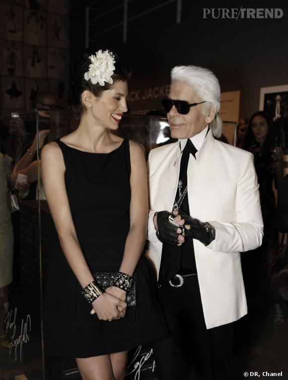 Maïwenn, nouvelle égérie Chanel Eyewear.