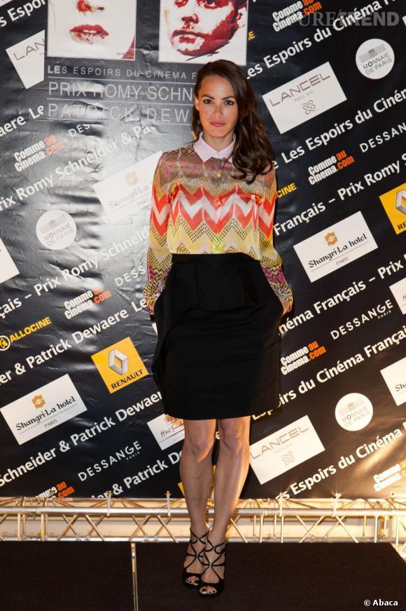 Bérénice Bejo à la soirée Romy Schneider et Patrick Dewaere Awards 2012 à Paris le 11 juin.