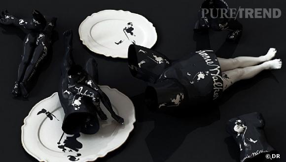 """""""Drunken-Johnnie Walker"""" de Kim Joon, 2011, Sundaram Tagore Gallery.    www.kimjoon.co.kr"""