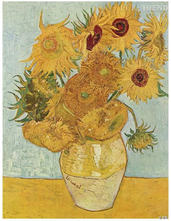 Les Tournesols, Vincent Van Gogh, 1888.