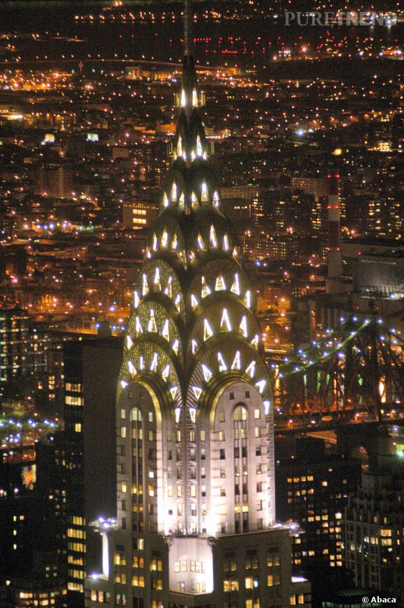 Le Chrysler Building à New York.