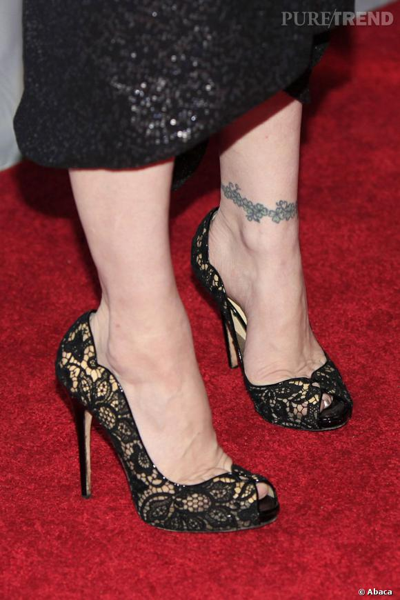 Un autre tatouage de Courtney Love.