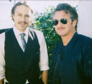 """Heath Ledger et Sean Penn aux """"Film Independent's Spirit Awards"""" de 2007"""
