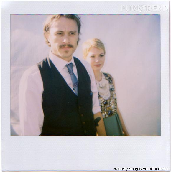 Heath Ledger et Michelle Williams, encore en couple à l'époque.