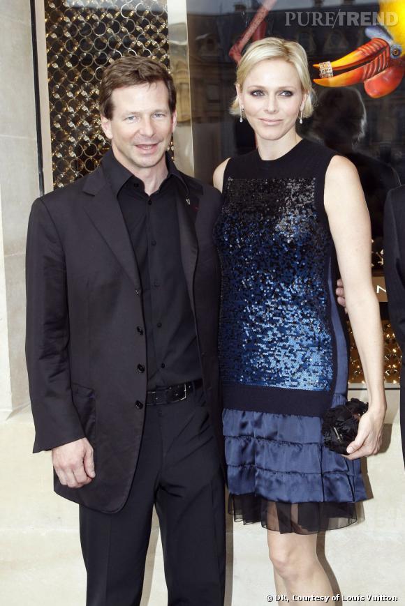 Lorenz Baumer, et la Princess Charlene de Monaco.