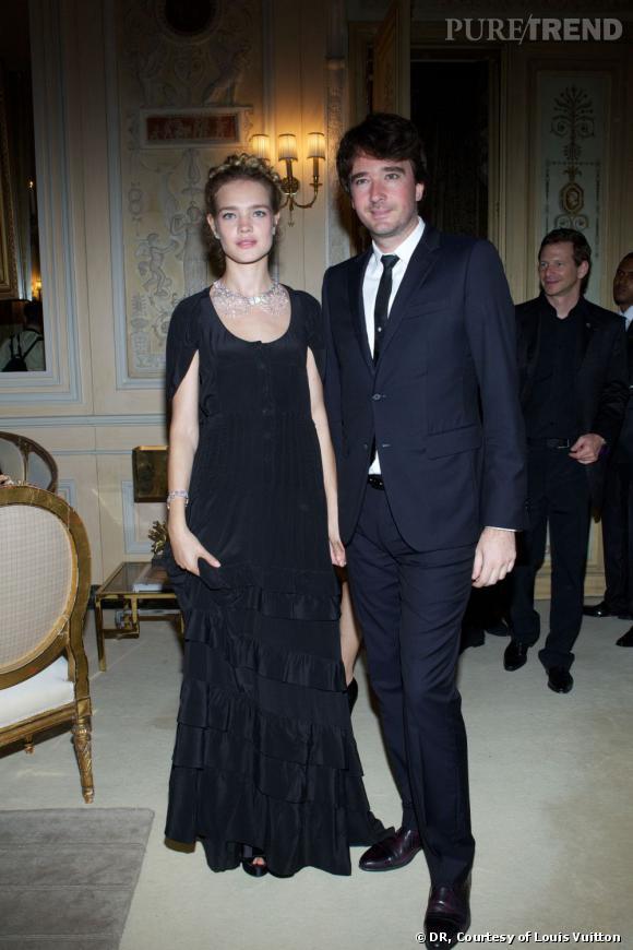 Natalia Vodianova et Antoine Arnault.