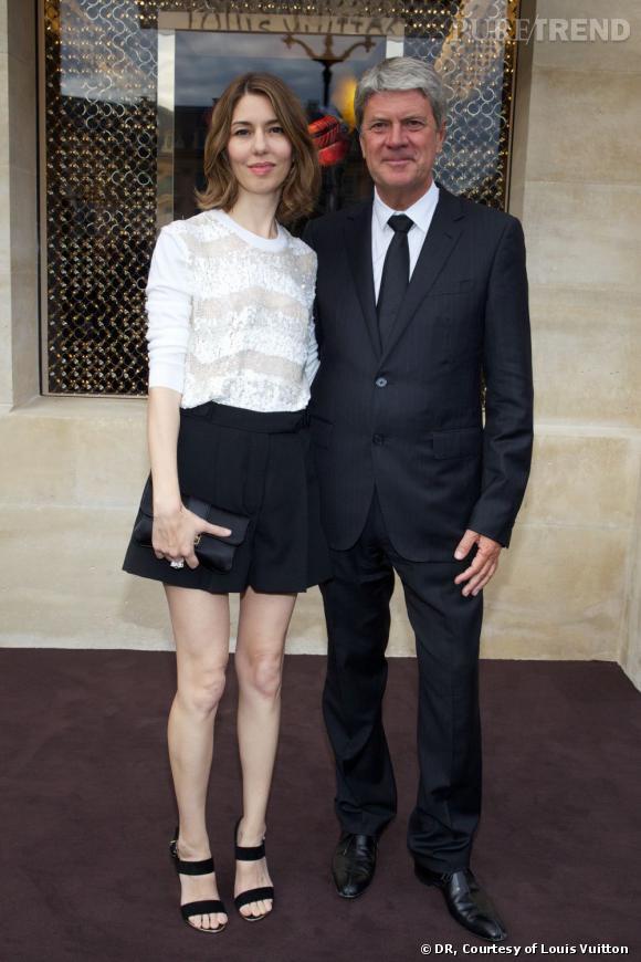 Sofia Coppola et Yves Carcelle.