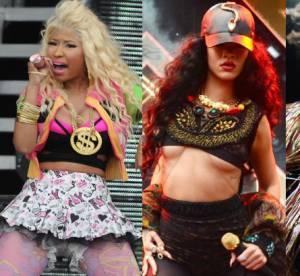 Nicki Minaj, Rihanna, Rita Ora : les tenues de scène les plus trash du Wireless Festival 2012