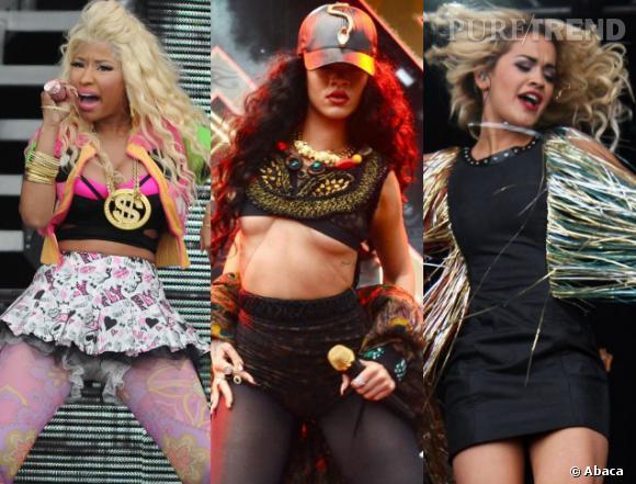 Nicki Minaj, Rihanna, Rita Ora, toujours plus loin dans le trash