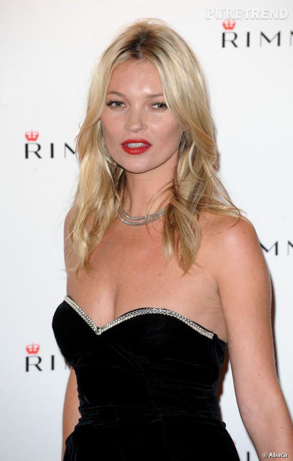 Kate Moss ne pouvait qu'apprécier.