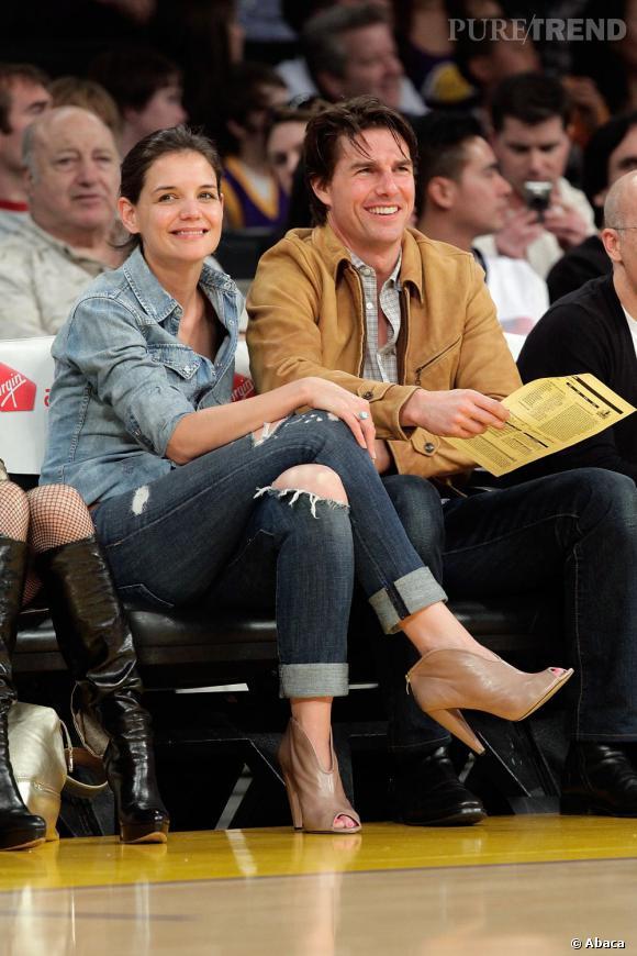 Katie Holmes et Tom Cruise sont-ils heureux ? En tout cas ils se donnent beaucoup de mal pour en donner l'impression