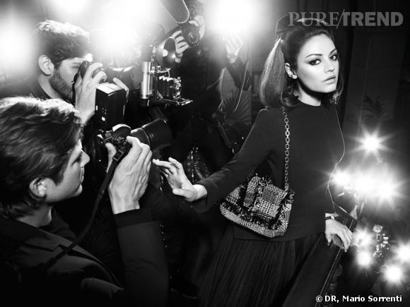 Mila Kunis pour Miss Dior.