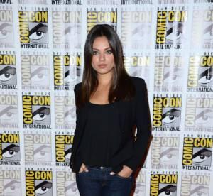Mila Kunis au Comic Con 2012 : simple et élégante pour Le monde fantastique d'Oz