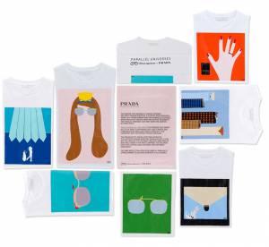 Vahram Muratyan imagine des t-shirts avec Prada