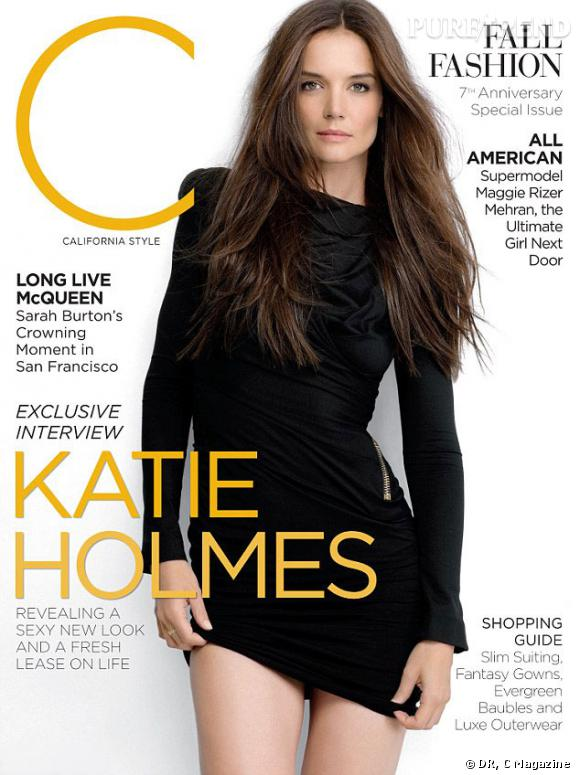 "Katie Holmes pose en couverture du September Issue de ""C Magazine"", plus sexy que jamais"