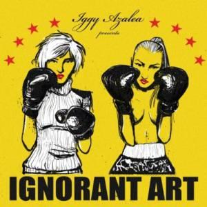 """Son 1er EP, """"Ignorant Art"""""""