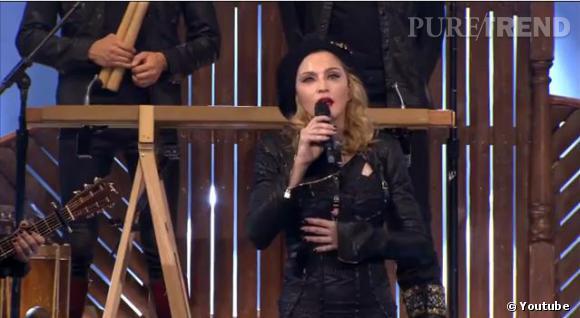 Madonna règle ses comptes.