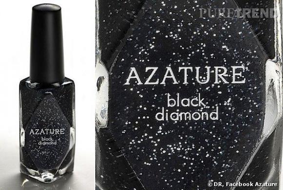Azature lance un vernis à ongles au diamant noir. Valeur : 250 000 dollars le flacon.