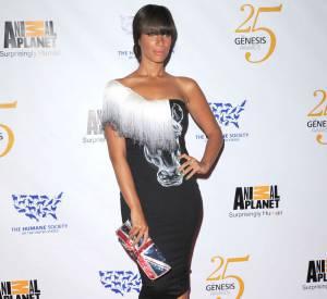 Leona Lewis et la version pochette glitter.