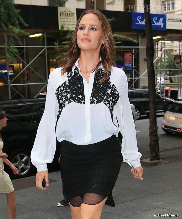 Jennifer Garner, à New York le 14 août dernier.