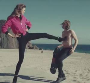 Karlie Kloss, transformée en riot girl aguicheuse et dure à cuire pour Juicy Couture