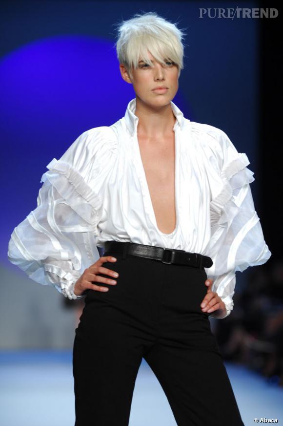 Agyness Deyn a remis la coupe androgyne à la pointe de la tendance.