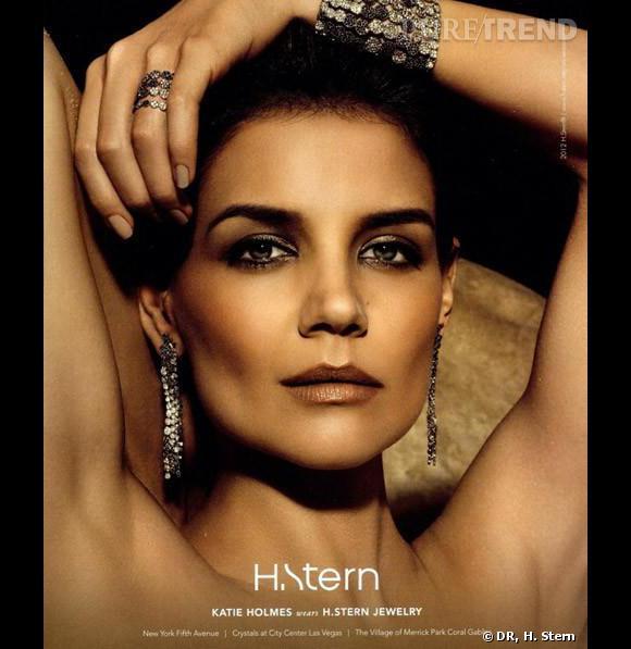 Katie Holmes pour le joaillier H. Stern.