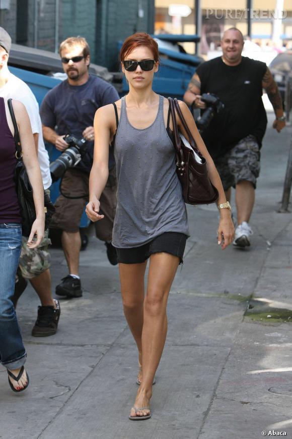 Jessica Alba en rousse : erreur fatale.