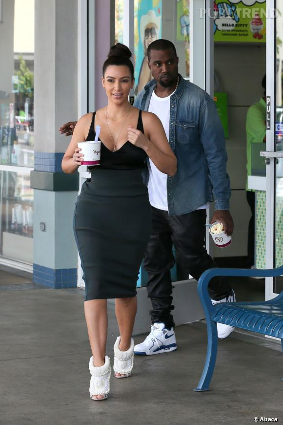 Kanye West a bien l'intention de relooker Kim Kardashian.