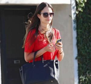 Jardana Brewster, joli look dans les rues de Los Angeles.