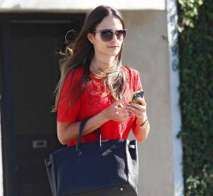 Jordana Brewster, a la pointe de tendances... A shopper !