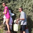 Heidi Klum, toujours proche de son bodyguard.