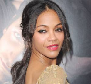Zoe Saldana : une actrice en or pour la premiere mondiale de ''The Words''