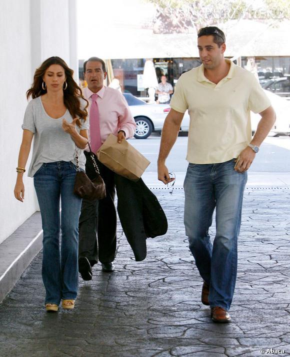 Sofia Vergara et son fiancé Nick Loeb.